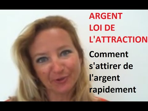 loi de l 39 attraction s 39 attirer l 39 argent rapidement youtube. Black Bedroom Furniture Sets. Home Design Ideas