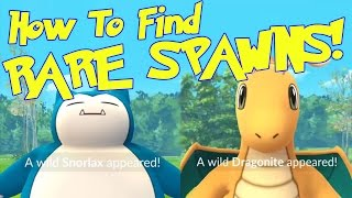4 Tips to Find Rare Spawns Like Snorlax & Dragonite! How to Find Rare Pokémon in Pokémon GO!
