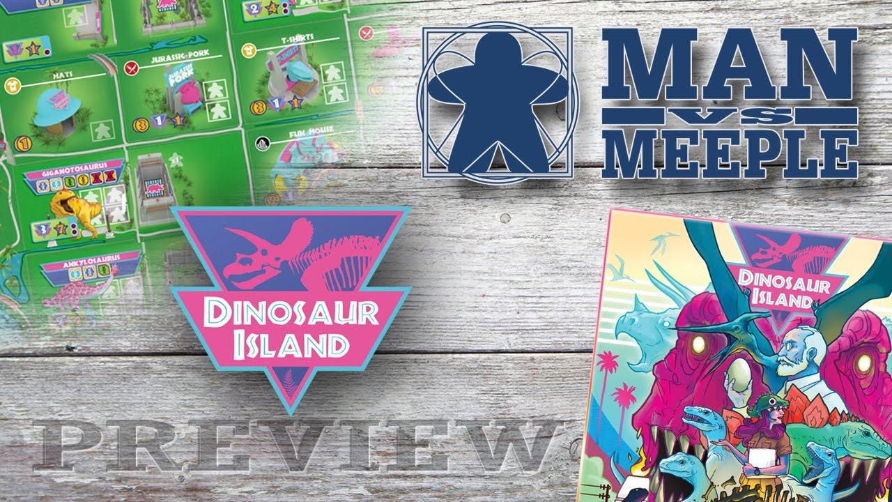 Dinosaur Island (Pandasaurus) Preview by Man Vs Meeple ...