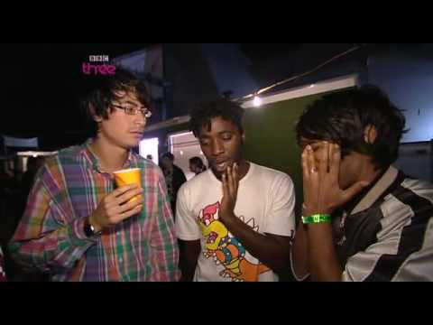 Bloc Party - BBC interview at Reading '08