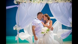Свадьба за границей  Свадьба на Мальдивах  Юрий Татьяна