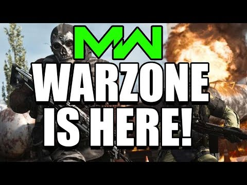 Modern Warfare Battle Royale RELEASING THIS TUESDAY! Call of Duty Warzone Release Date This Tuesday!