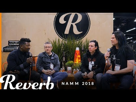 Metal Guitar Builders Panel at the Reverb Booth | Winter NAMM 2018
