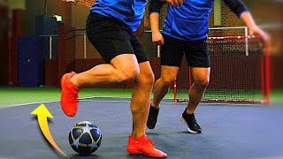 """LEARN This Crazy FOOTBALL Skill! 😱 """"The Circus Spin"""" Skill Tutorial! ★"""