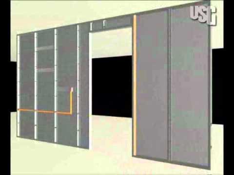 Instalaci n tablaroca youtube - Instalacion de pladur en paredes ...