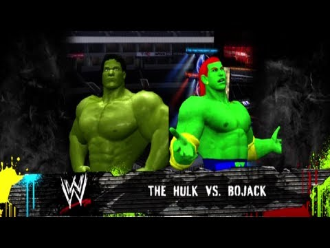 WWE 12 - The Hulk vs Bojack [Extreme Rules]