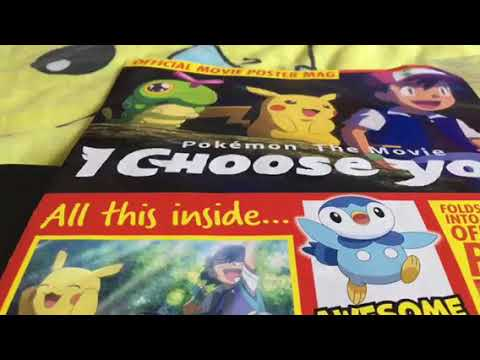 official movie poster mag for pokemon the movie i choose you sub