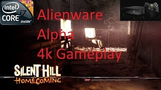 Alienware Alpha i7 Silent Hill: Homecoming 4k Gameplay