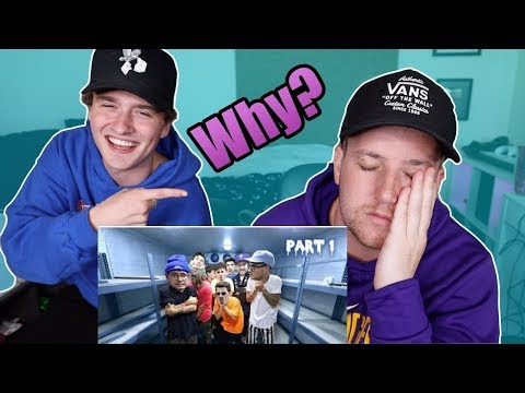 Reacting To Kian & Jc's Freezer Video!!