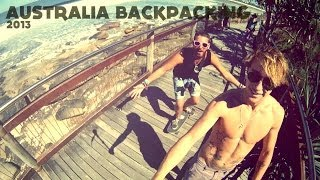 Australia backpacking 2013 GoPro + Canon 600d [HD]
