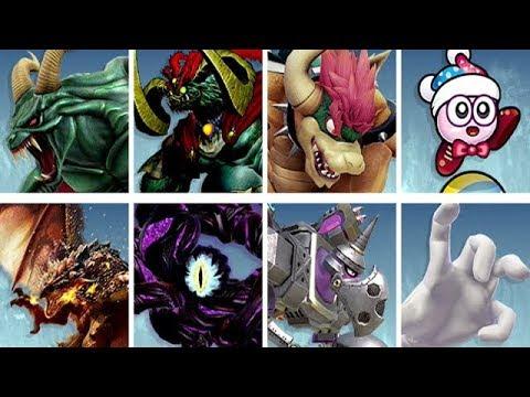 Super Smash Bros. Ultimate - All Boss Spirit Battles (Hard Mode) thumbnail