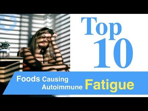Top 10 Foods Causing Autoimmune Fatigue