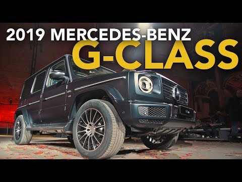 2019 Mercedes-Benz G-Class First Look - 2018 Detroit Auto Show