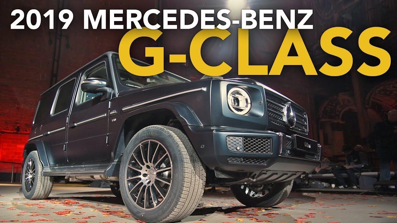 2019 Mercedes-Benz G-Class First Look - 2018 Detroit Auto Show - Dauer: 3 Minuten, 18 Sekunden