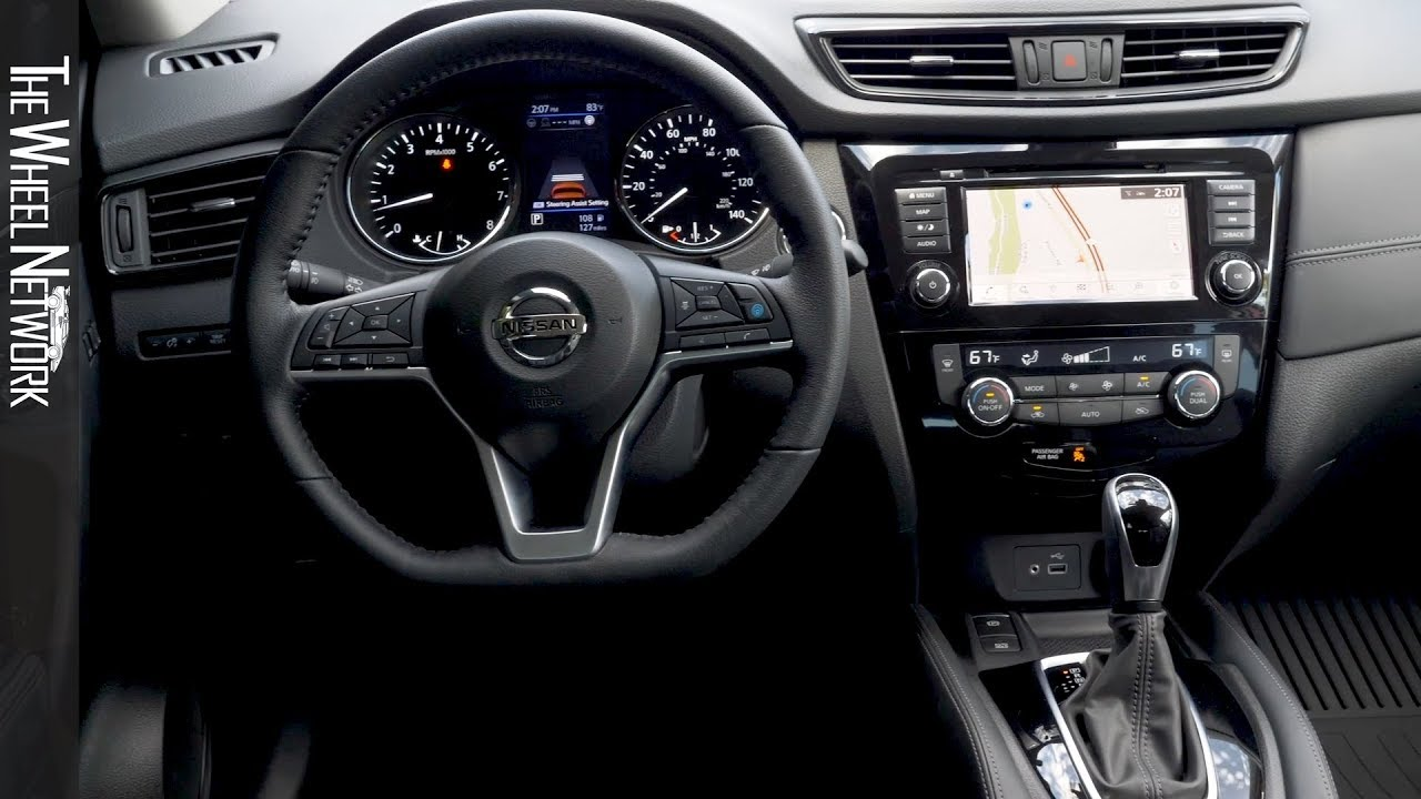 2020 Nissan Rogue Interior Us Spec Nissan X Trail