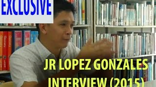 JR Lopez Gonzales Interview by Iguoi Films [2015]