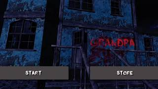 Playing grandpa the horror game