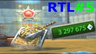 Road To Legend #5 3.3M Garage upgrade! 100+ Containers - Tanki Online (Last RTL Video By Box)