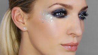 Smokey Eyes With Sparkle Using Drugstore Makeup