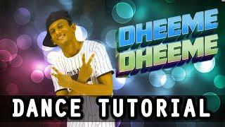 Tony Kakkar's DHEEME DHEEME ft. Neha Sharma || Dance Tutorial |  Nishant Nair Choreography l