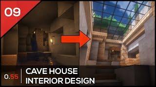 MINECRAFT HOUSE DESIGN  Cave House [Architecture showcase]