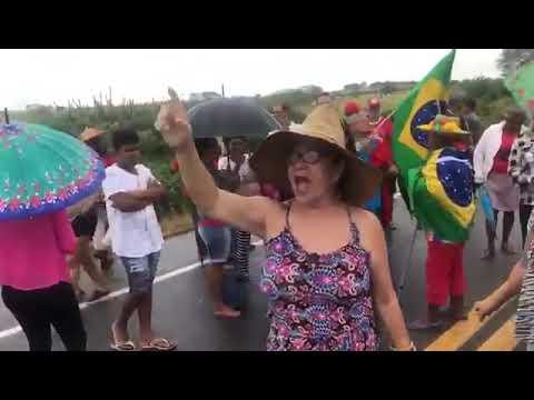 MST interdita rodovia em Tangará-RN em protesto contra Previdência