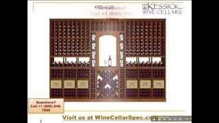 Kessick Modular Wine Racks - Wine Cellar Design