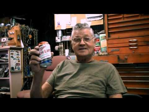 Ernie Adams and Miller High Life