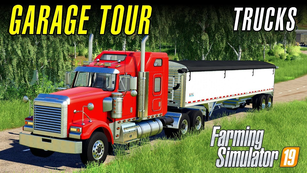 TRUCKS | Farming Simulator 19 - Garage Tour