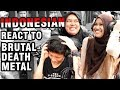 Indonesian People React To BRUTAL DEATH METAL (Waking The Cadaver Band)
