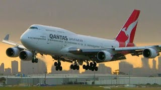 28 SATISFYING Touchdowns at Melbourne Airport   Melbourne Airport Plane Spotting