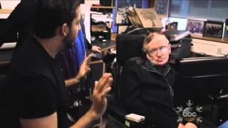 Stephen Hawking tricked by David Blaine