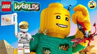 LEGO Worlds - Episódio #22 - O Astronauta Aventureiro [ PS4 ] Caraca Games