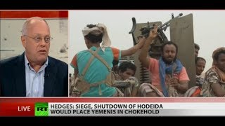 '80% of the [Yemen] population needs humanitarian aid' – Chris Hedges