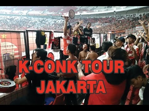 K-Conk Mania Awaydays Ke GBK || Persija Jakarta Vs Madura United 2018
