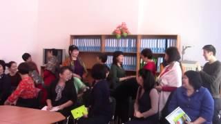 """Областной семинар на тему: """"Интегрированное обучение языков:методика и практика"""""""