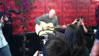 "Billy Corgan ""Song For A Son"" at Madame Zuzu's 9/13/12"