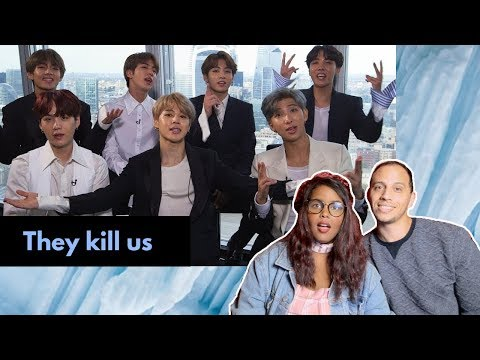 BTS vs. NME + BTS on Having No Friends, Drake and Pokemon REACTION (BTS REACTION)