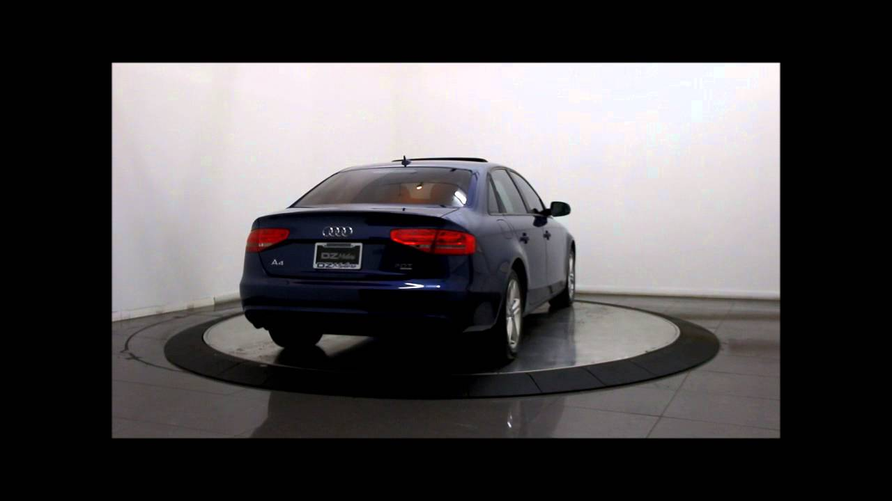 2013 Audi A4 Quattro Premium Sedan Youtube