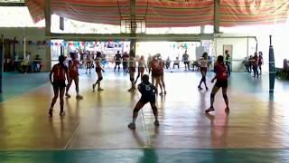 Palarong Pambansa 2018 Secondary Volleyball Girls DVRAA vs BRAA