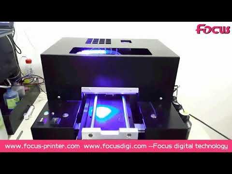 Focus A4 size UV printer Sapphire-Jet for phone case pen business card