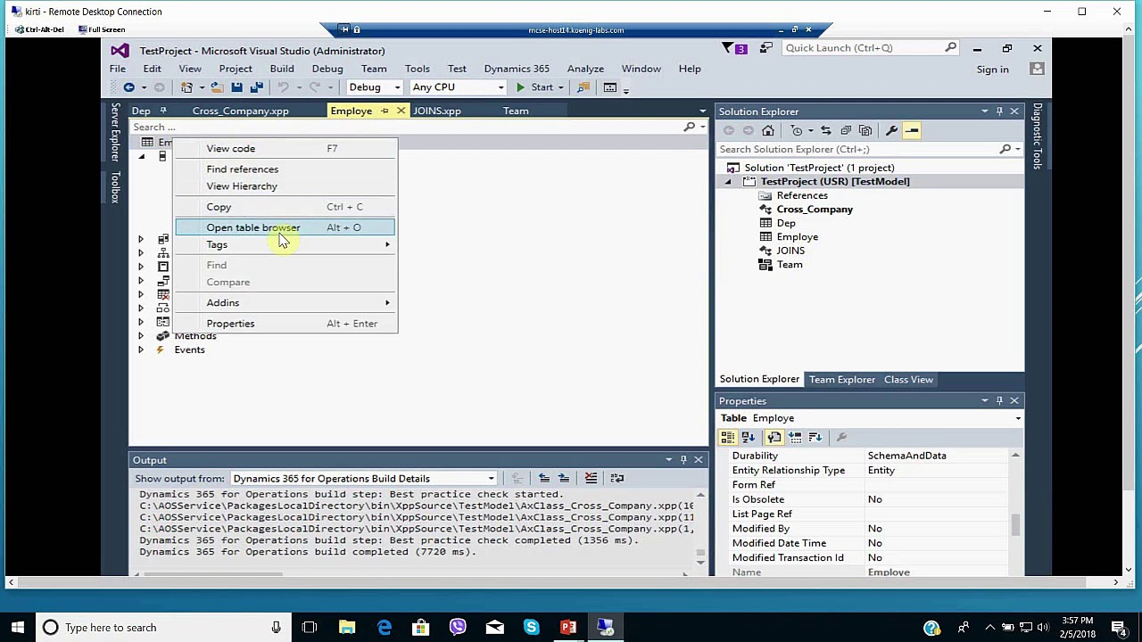 delete from in microsoft dynamics ax  youtube
