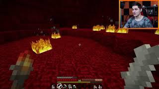 """Minecraft #255 - """"Straszny nether!"""""""