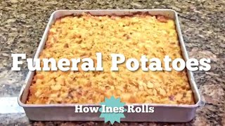 Cheesy Potatoes aka Funeral Potatoes | Easy Cooking Tutorial