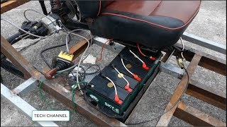 TECH - Electric car with oil disc brakes - part 6