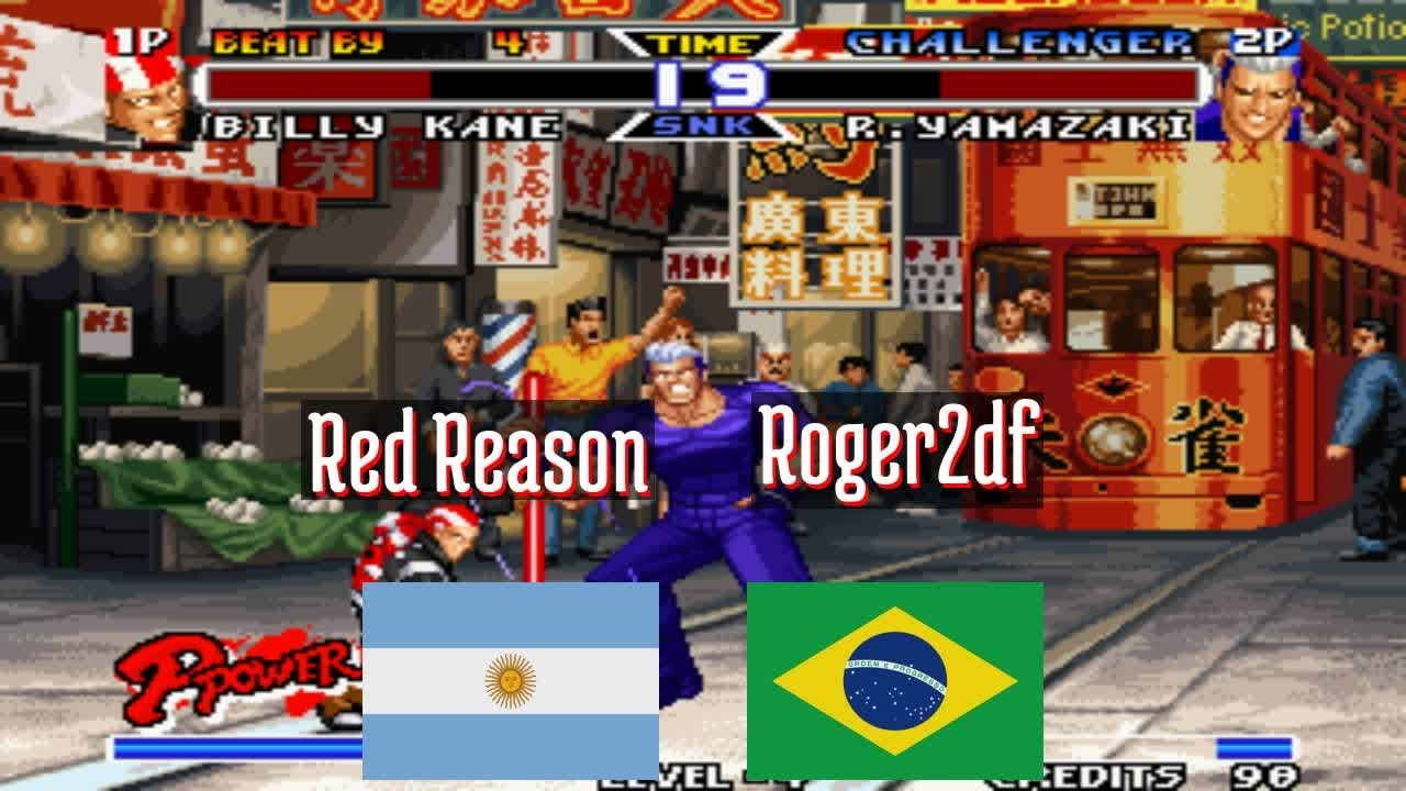 Real Bout Fatal Fury SP - Red Reason (AR) vs Roger2df (BR) - 2021-07-17