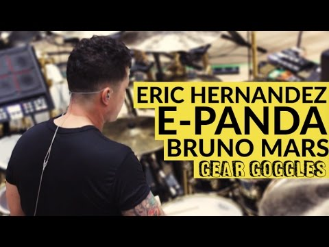 Eric E-Panda Hernandez | Bruno Mars | 24k Magic World Tour | Gear Goggles