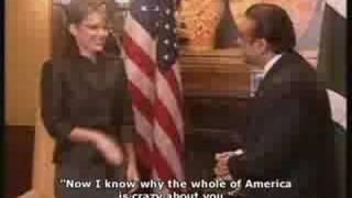 Zardari gets over-excited meeting Sarah Palin