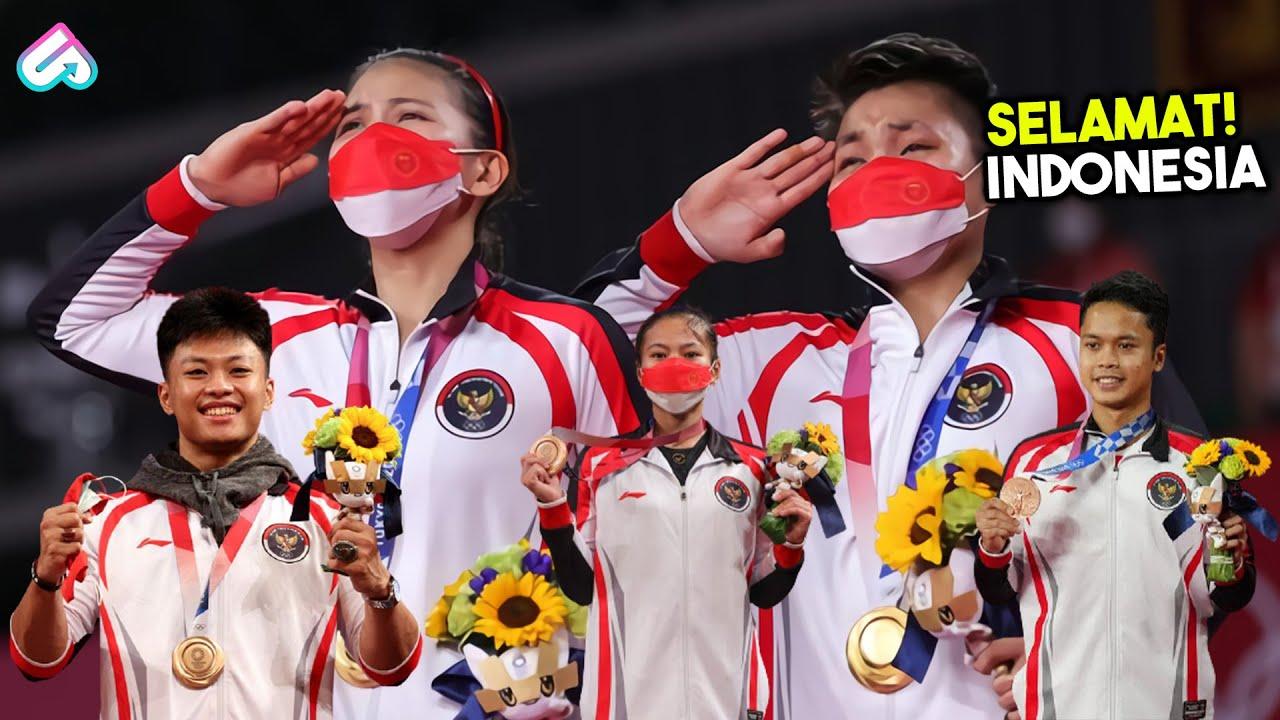 CETAK SEJARAH! 10 Atlet Berprestasi yang Pertama Kali Bela Negara Indonesia di Ajang Olimpiade Tokyo