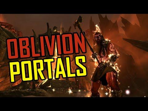 The Elder Scrolls Online: Blackwood - Solo Oblivion Portal Gameplay  